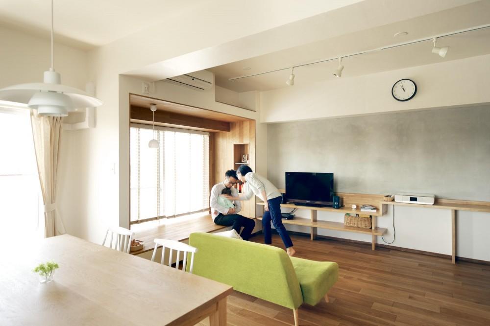 井村正和「『御器所のマンション K邸』 〜小上がりを使った居場所づくり〜」