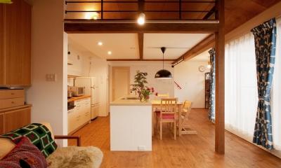 K邸・古いお家を思い切り楽しむ。光あふれる元気な住まい