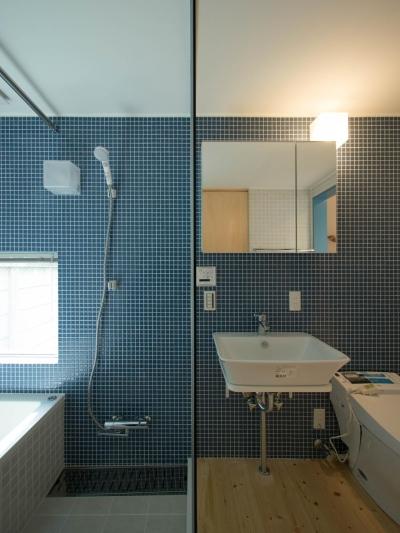 浴室・洗面・トイレ (通り庭の家)