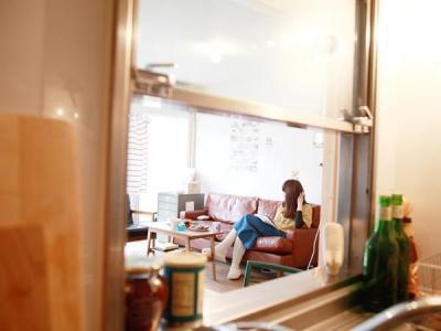 キッチンからの眺め (Container — リフォーム済物件を320万円スタイリング)