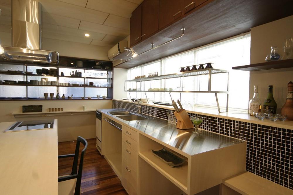 『各務原の住宅 G邸』 〜木造戸建てリノベーション〜 (キッチン)