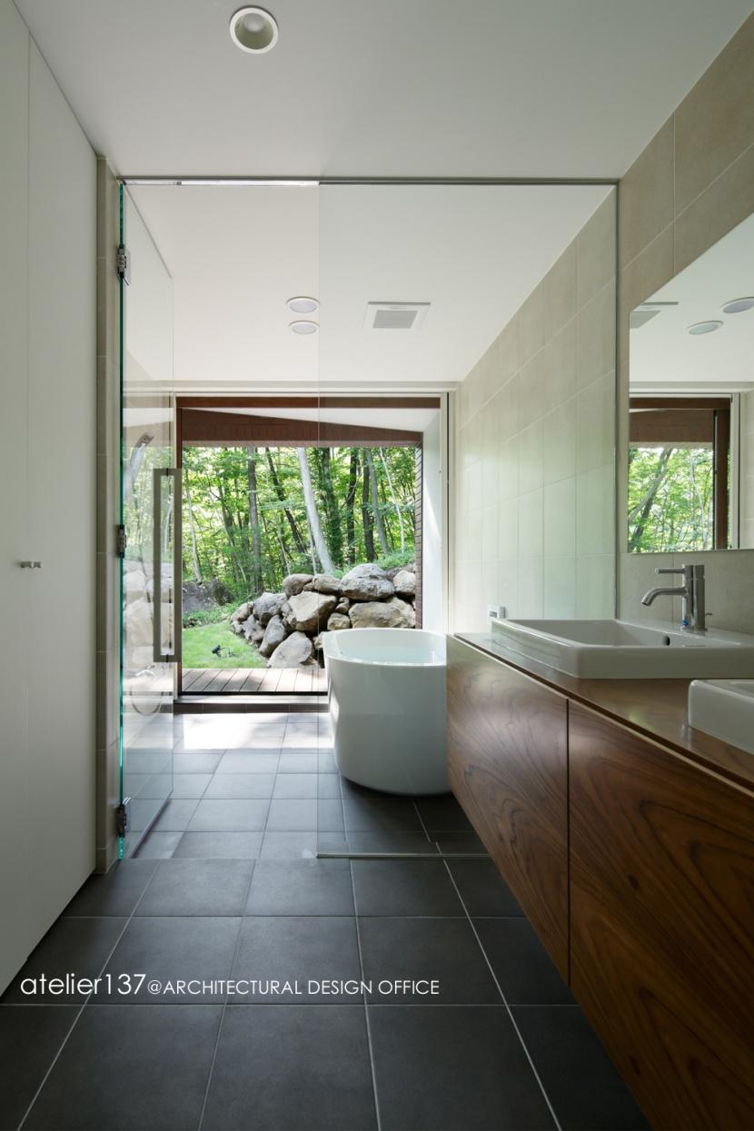029那須Hさんの家の部屋 浴室