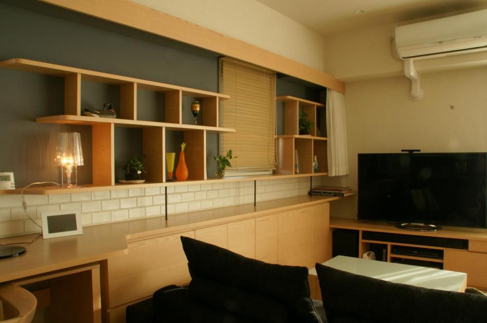 『天白区のマンション U邸』 〜 オリジナル収納家具によるマンションリノベーション 〜 (ダイニング)