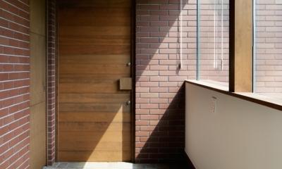 029那須Hさんの家 (玄関)