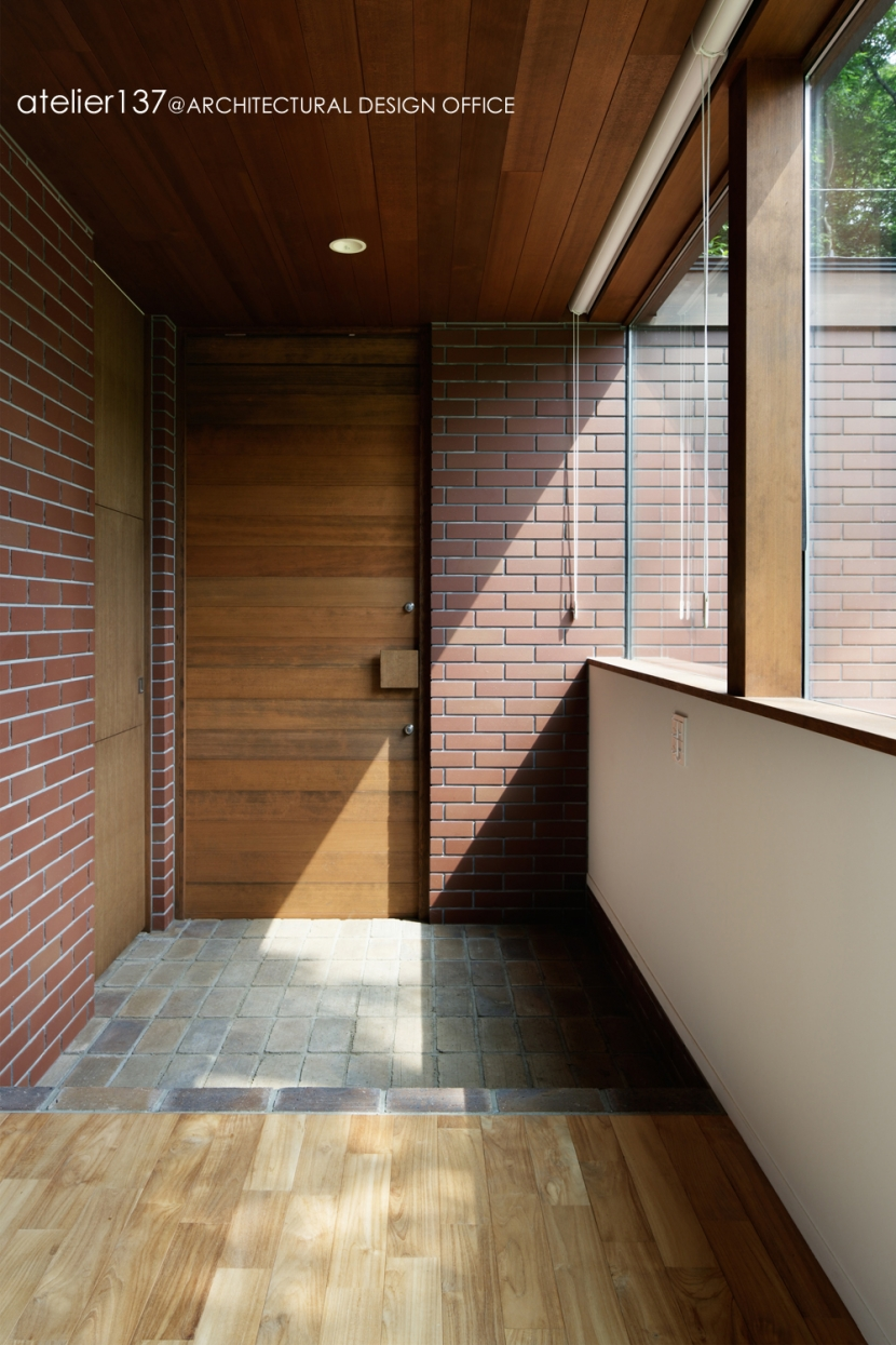 029那須Hさんの家の部屋 玄関