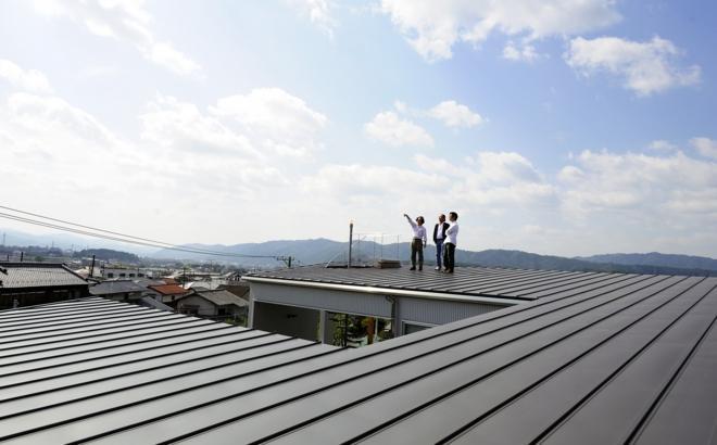k-houseの部屋 屋根上