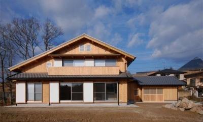 N-house (外観 正面)