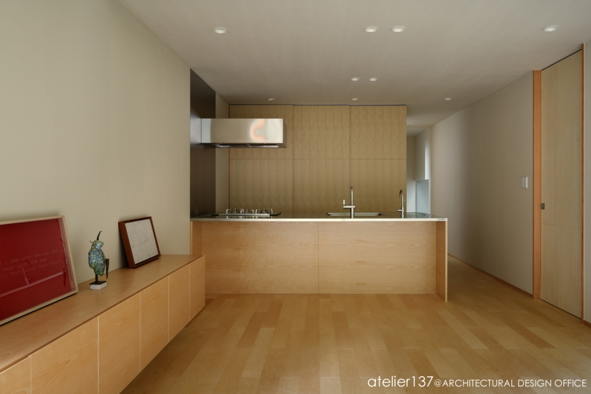 031軽井沢Tさんの家 (キッチン)