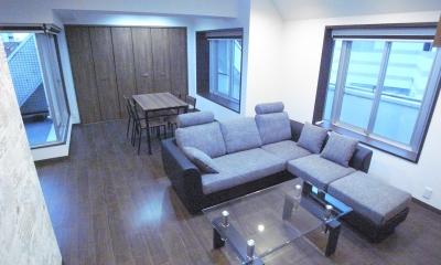 葛飾の一等地に建つ最上階、一部屋(ペントハウス)の魅力あふれるリノベーションマンション