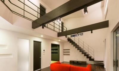 デザインにこだわったシンプルモダン住宅