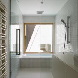 031軽井沢Tさんの家 (浴室)