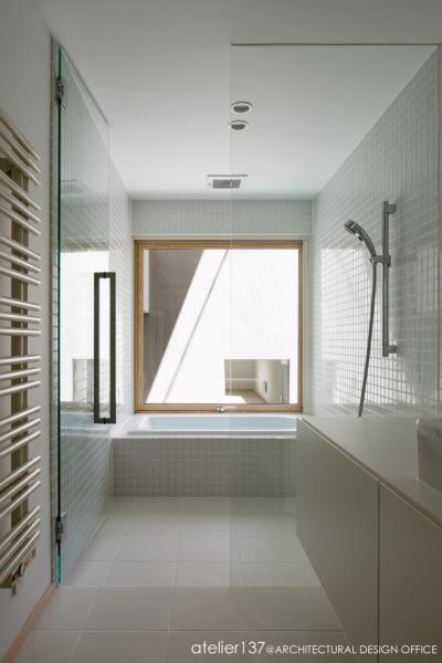 浴室 (031軽井沢Tさんの家)