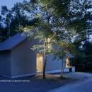 031軽井沢Tさんの家の写真 外観夕景
