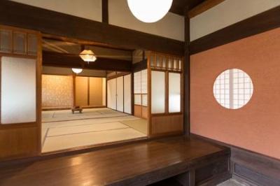 玄関・和室 (古民家改修プロジェクト)