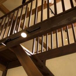 古民家改修プロジェクト (階段)
