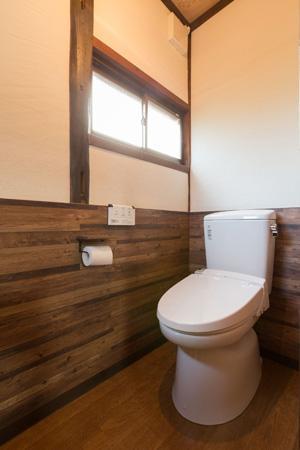 古民家改修プロジェクトの部屋 トイレ