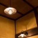 古民家改修プロジェクトの写真 照明