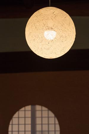 古民家改修プロジェクトの部屋 照明