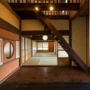 古民家改修プロジェクトの写真 吹き抜け・和室