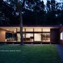 029那須Hさんの家の写真 外観夕景