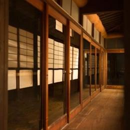 古民家改修プロジェクト (縁側)