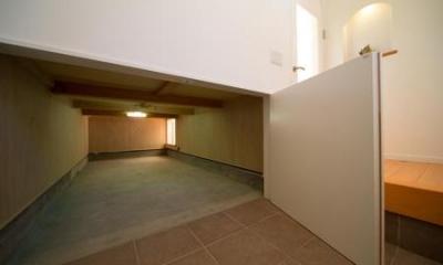床下収納|Casa Bonita(かわいい家)