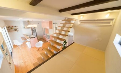 Casa Bonita(かわいい家) (琉球畳を敷き詰めたロフト)