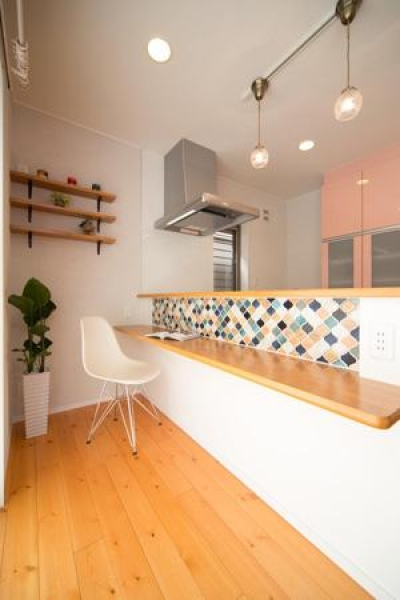 Casa Bonita(かわいい家) (キッチンカウンター)