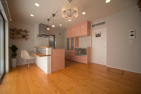 Casa Bonita(かわいい家)の部屋 ダイニングキッチン