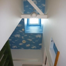 Casa Bonita(かわいい家) (トップライトのある空柄天井)