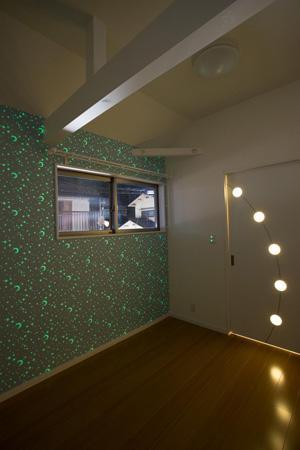 Casa Bonita(かわいい家)の部屋 洋室