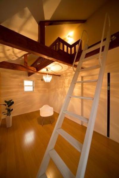 ロフトのある洋室 (Casa Bonita(かわいい家))