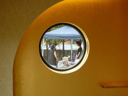森xイエの部屋 丸窓