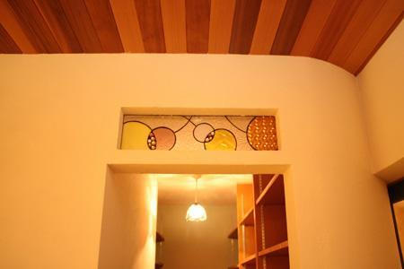 森xイエの部屋 ステンドグラス