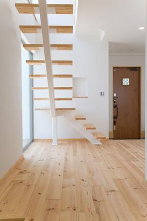 cross road HOUSEの部屋 オープン型階段