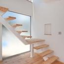 cross road HOUSEの写真 オープン型階段
