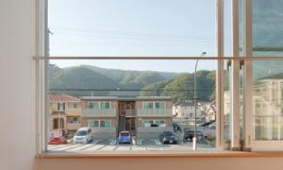cross road HOUSE (窓からの眺め)