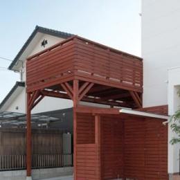 cross road HOUSE (バルコニー付きカーポート)