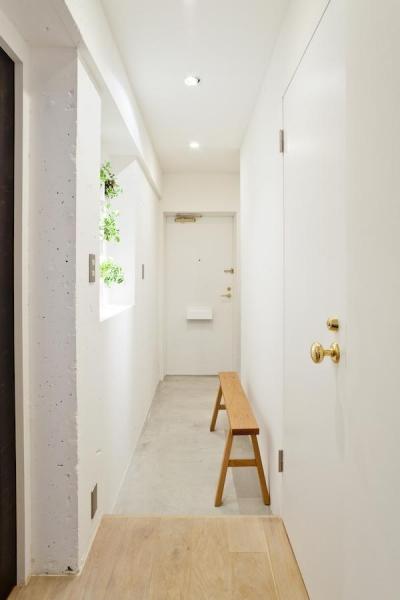 廊下 (Chambre—部屋ごとの世界観をがらりと変えて)