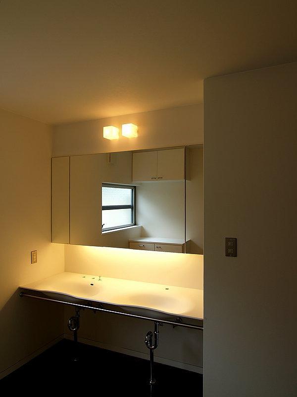 Shell-houseの部屋 ダブルボウルの洗面所