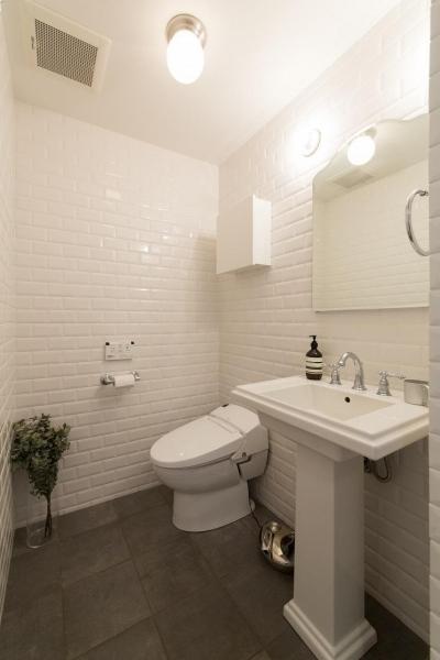 トイレ (大阪市 戸建て リノベーション)