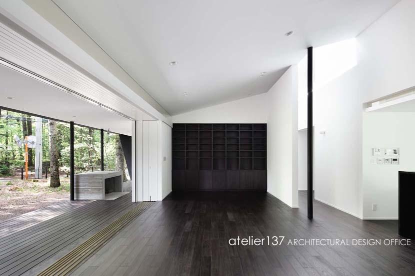 018軽井沢Cさんの家の部屋 リビング