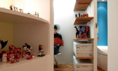 SHAPES—丸・三角・四角の空間を備えた部屋 (ギャラリースペース)