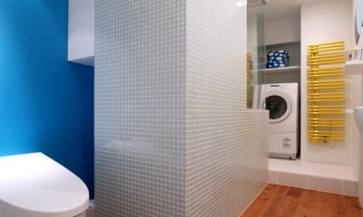 サニタリー|SHAPES—丸・三角・四角の空間を備えた部屋