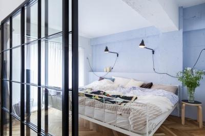 ベッドルーム (I邸—育児も仕事も目一杯やるための3つの導線)