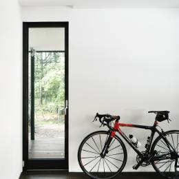 018軽井沢Cさんの家 (寝室)