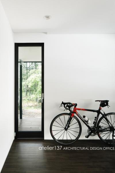 寝室 (018軽井沢Cさんの家)