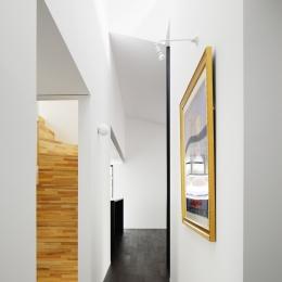018軽井沢Cさんの家 (廊下)