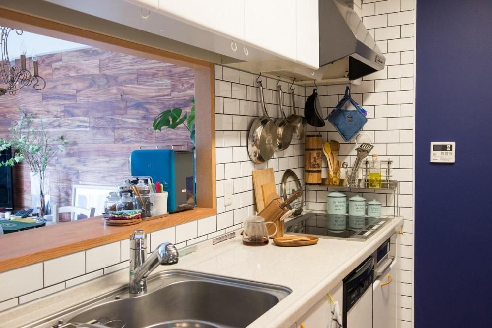 LIGHTリノべ―ション01 ヨーロピアンヴィンテージな空間 (キッチン)