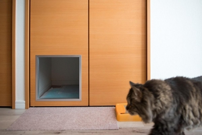 LIGHTリノべ―ション01 ヨーロピアンヴィンテージな空間 (猫ちゃんトイレ)